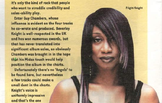 Hotpress Magazine Beverley Knight album review