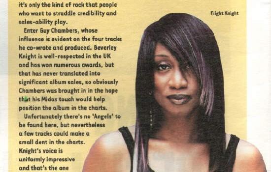 Hotpress Magazine Beverley Knight album review
