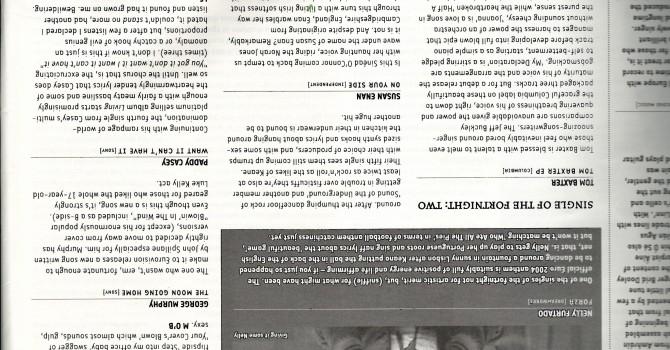 Hotpress Magazine singles reviews
