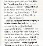 Hotpress Magazine theatre listings