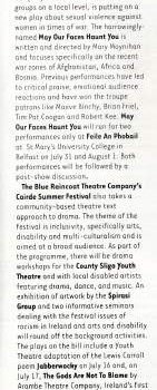 Hotpress Magazine theatre listings