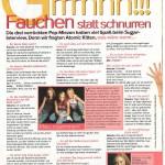 Sugar Magazine, Atomic Kitten interview