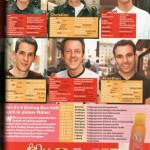 Sugar Magazine, dating advice advertorial