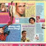 Sugar Magazine, movie page