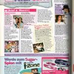 Sugar Magazine, reader feedback page