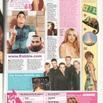 Sugar Magazine, music page