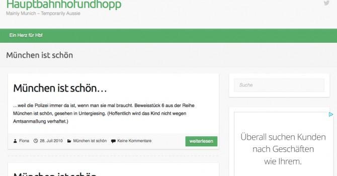 Munich Blog
