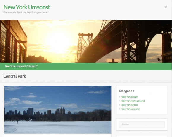 New York Umsonst