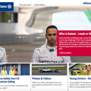 Allianz Road Safety F1