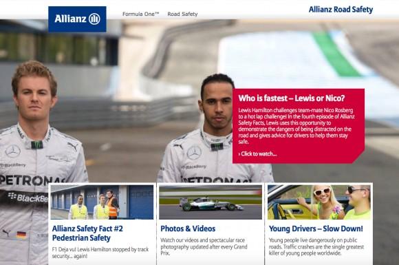 Allianz Road Safety F1
