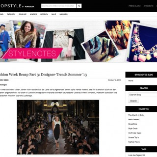 Shopstyle Stylenotes Blog