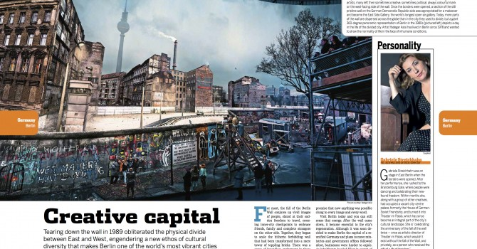 Feature on the fall of the Berlin Wall