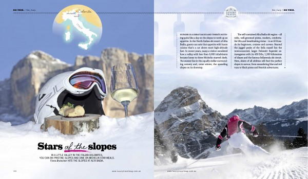 Skiing in Italy, travel story on Alta Badia by Fiona Brutscher
