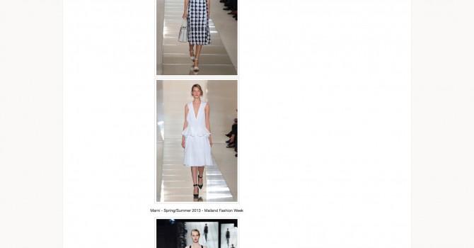 Fashion Week Recap Teil 1: Designer-Trends Sommer 2013