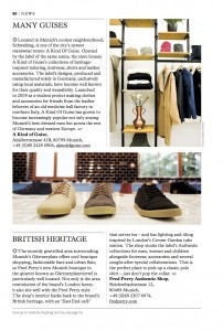SHOP Magazine Germany Fred Perry