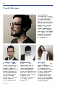 SHOP Magazine Germany contributors page