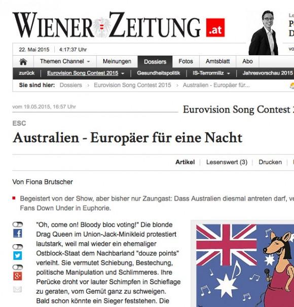 Australien – Wiener Zeitung Online