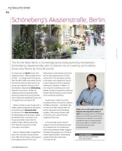 "Oryx Magazine ""My Favourite Street"" Berlin"