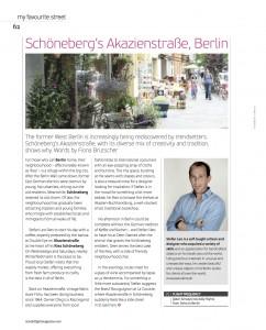 "Oryx Magazine ""My Favourite Street"" Berlin"