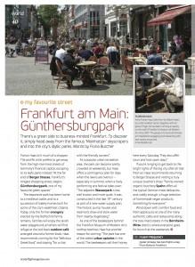 "Oryx Magazine ""My Favourite Street"" Frankfurt"