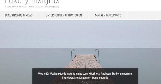 Luxury Insights Blog